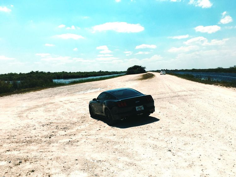 On A Hill Looking Down at my Car Fiftyyearsofmustang