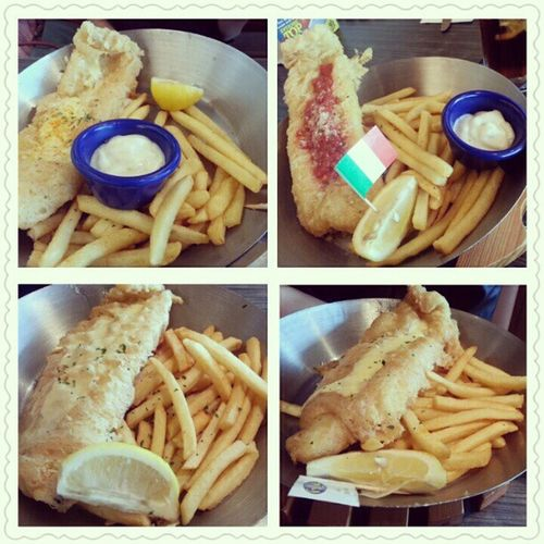 FishNCo with @sinyeeotaku @triciazayn and Jinghui Lunch Postexam Startofholiday Studentmeal yumyum fish fries clementimall
