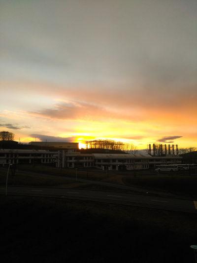 Sunset City Sky