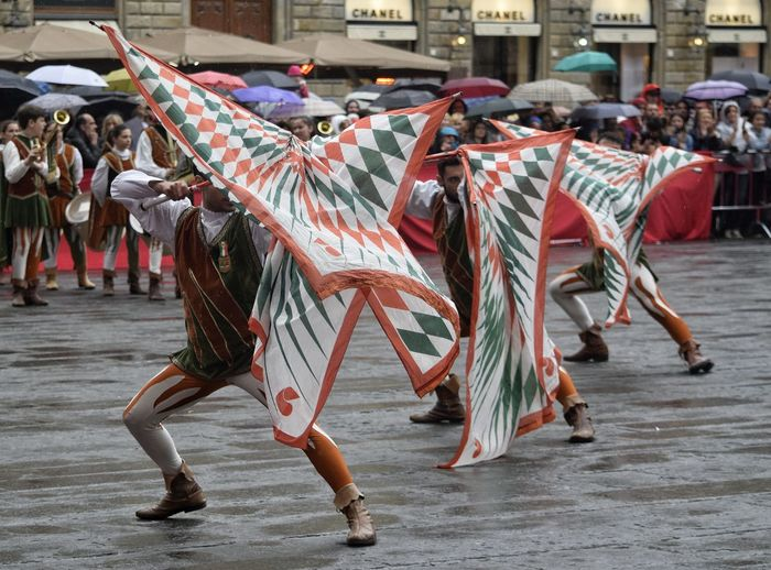Il Trofeo Marzocco Colors Florence Italy Flags Lucca Lucca Italy Flag Throwing Competition Event Annual Event Coordination Performance Performing Arts Event Teamwork Traditional Dancing Arts Culture And Entertainment Dancer Celebration City Tradition Carnival - Celebration Event Parade Costume