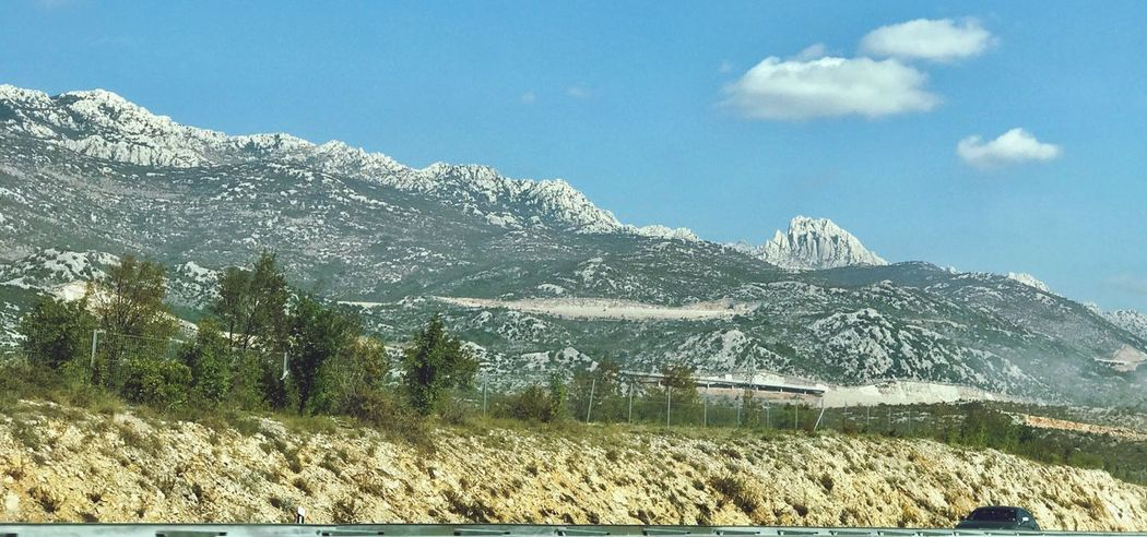 Velebit Mountain Nature Landscape Mountain Range Beauty In Nature Sky Day Tranquility No People Scenics Outdoors