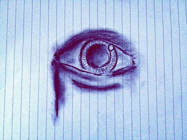 Drawing Eyes . :)