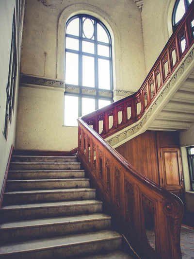 Arch Architectural Feature Architecture Building Built Structure Day Design Low Angle View No People Staircase Stairs Steps Steps And Staircases