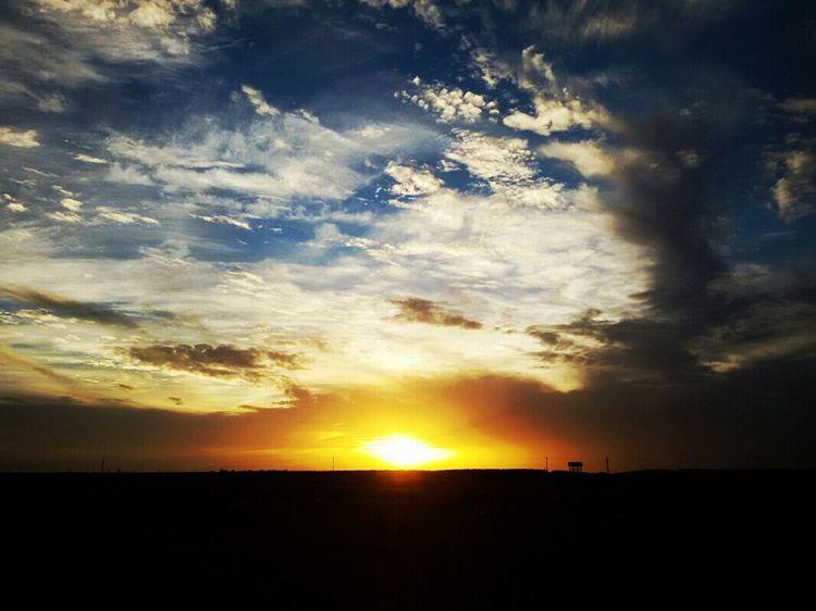 Sky_collection Skyporn Sunrise Desert Beautiful Sky Sky And Clouds Algeria Adrar Zawyet Reggani