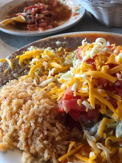 Mexican Food Yummy Food Meal Close-up Plate Table
