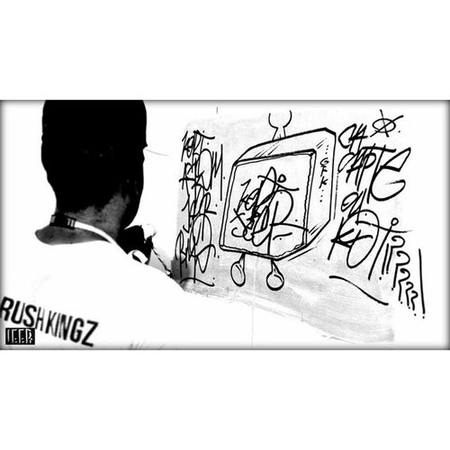 GRK 📺 👤🎨 KEBI Graffitiwall Graffitiart Graffiti Grkcrew Grkingz GRK Vandal Goldrushkingz