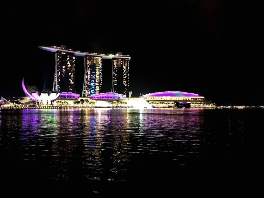 Marina Bay Sands By  IPhone IPhone Photography