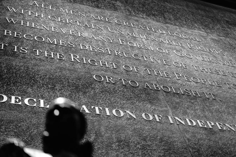 America Close-up Communication Culture Day Freedom History Indepedence Indoors  Men National Museum Of African American History And Culture People Rights Slavery Smithsonian States Text USA War Washington, D. C. Western Script
