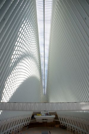 The Oculus Breathing Space New York Oculus Oculus NY Architecture Built Structure Ceiling Day Indoors  Modern No People The Oculus