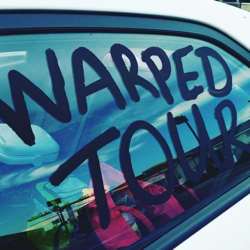 Warped Tour  Warped Tour 2016 Roadtrip Road Trip Bands Bands That Saved Me Happy :) Car Trip Warpedtour Warped