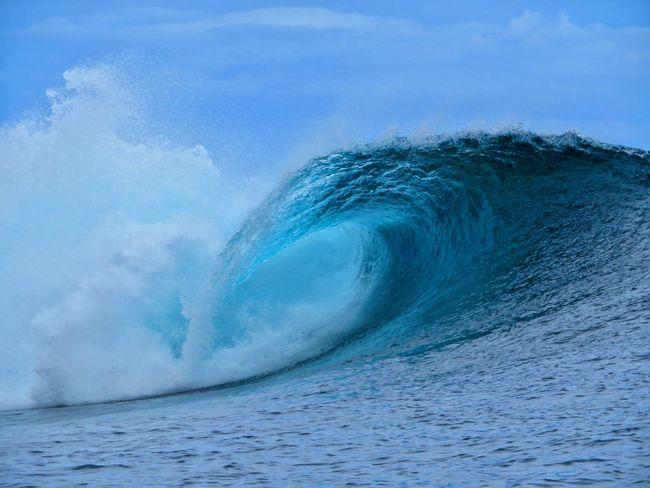 South Pacific Beach Ocean Tahiti ❤ Tahiti Surf Surfbreak Teahupoo UnderSea Power In Nature Sea Beauty Wave Adventure Water Humpback Whale Go Higher Summer Exploratorium