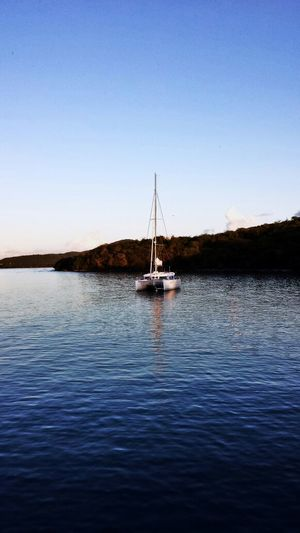 """""""Go small, go simple, go now"""" by Larry Pardey Sail Away Sail Away, Sail Away Sail Boat in Isla Culebra ,Puerto Rico"""