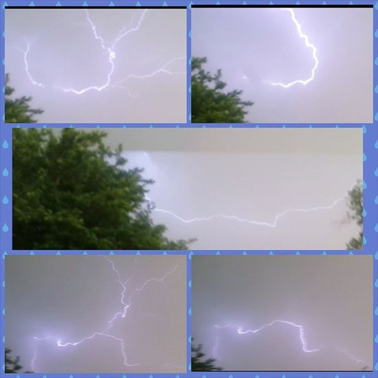 I am a bit in love with the lightening show 😍💧⚡ Texasweather LetItRain