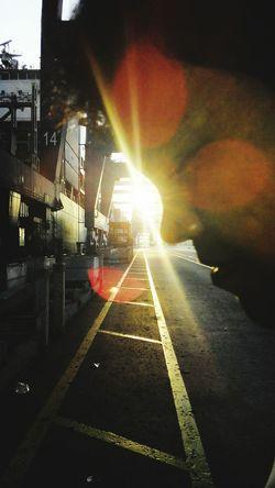 Taking Photos kissing sunrise@