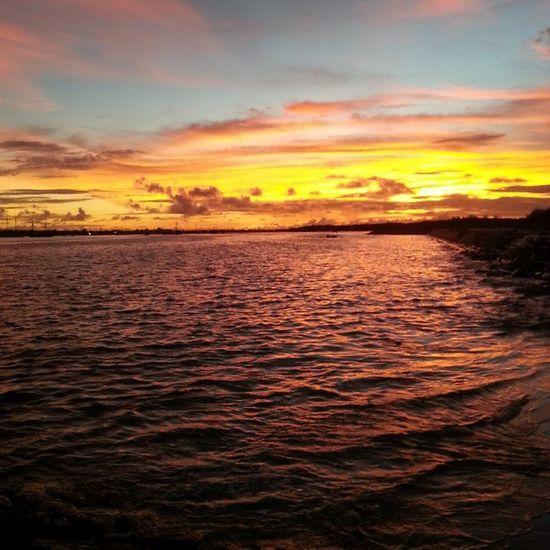 Sunset over sanur Sanur Sunset Picoftheday Bali backpacking follow followme