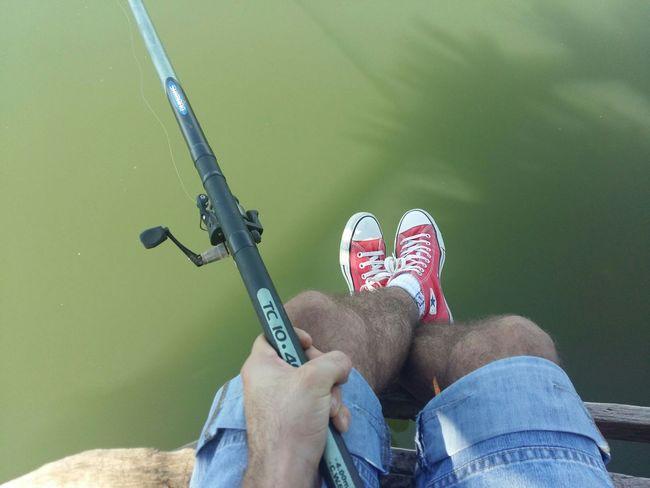 What I Value Fishing TimeForMyself Calmness Love EyeEm EyeEm Best Shots EyeEm Gallery Converse All Star Danube