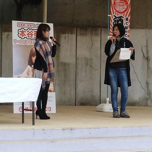 酒田麺博2013というのが開催されていたので来てみた。