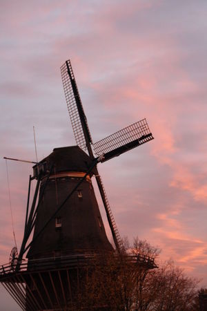Nature No People Outdoors Rural Scene Sky Sunset Traditional Windmill Windmill