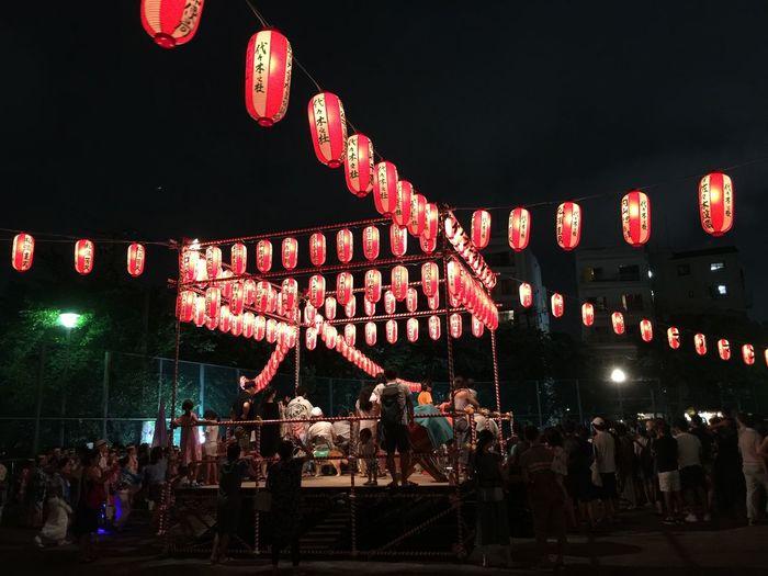 昨夜は今年初のお祭り堪能👍 祭 東京 Tokyo Shibuya Festival Japanese Style EyeEm Today's Hot Look Night Day