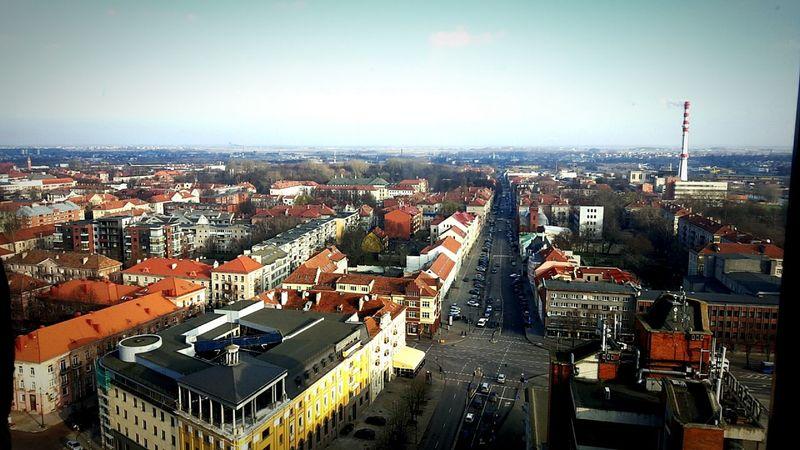 Urban Urban Architecture Klaipeda Lithuania