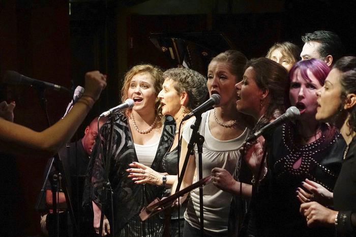 Godalming Community Gospel Choir performing at the 606 Jazz Club in Chelsea, London. 606 Jazz Club Chelsea England England 🌹 England, UK England🇬🇧 Gospel Gospel Choir Gospel Music Gospel Show Gospelmusic London LONDON❤