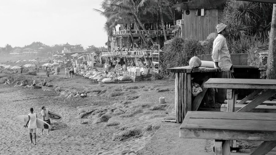 Bali Culture Surf Culture Beach Culture Bali, Indonesia Surfing depth of field Fujifilm X-t20 West Coast Beach Life Beach Leisure Activity Lifestyles People Real People Black And White Chilling Religion World Travel