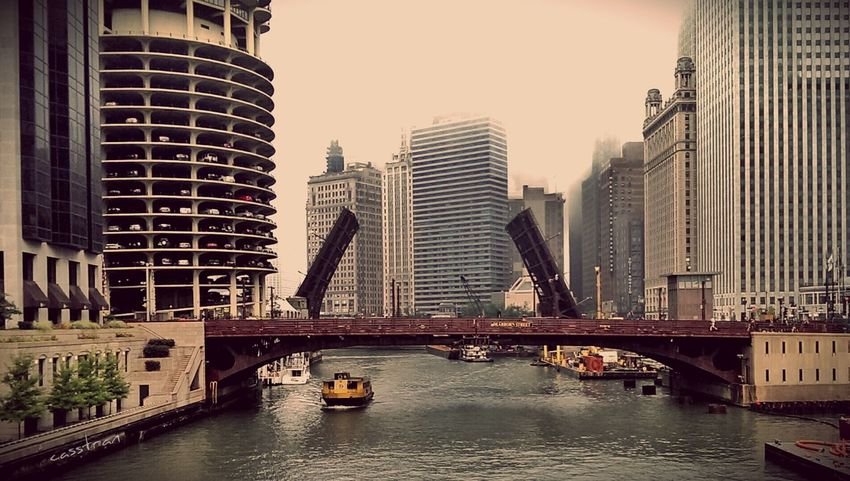 Fading into fog Architecture Cityscapes Chicago River EyeEm Best Edits