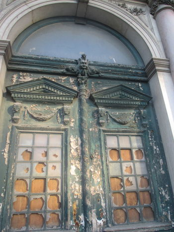 #abandoned Buildings #abandonedhouse #broken Windows #decay  #destruction #deterioration #no Life #old #old Door #time Pass Aging Architecture Built Structure Close-up Corruption Day Forgotten Buildings History Neglected Beauty No People Outdoors Place Of Worship Religion Spirituality Statue