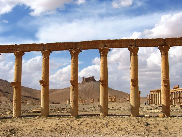 Ancient Civilization Architectural Column Architecture Built Structure Colonnade Column History No People Old Old Ruin Palmyra Pillar Popular Photos Syria  Taking Photos The Past Travel Travel Photography View
