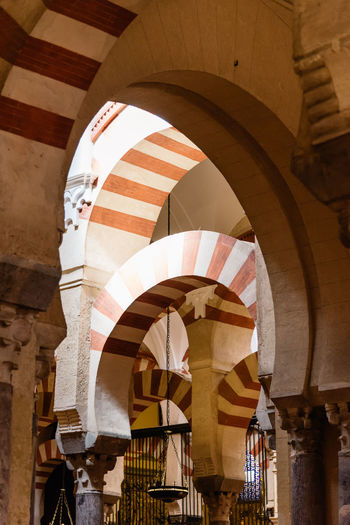 Interior of cordoba mosque