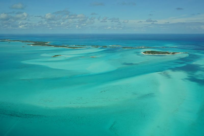 The northern Exuma Cays aerial view Bahamas Beauty In Nature Islands Sea Clear Water Minimal Aerial Photography Nature Sea And Sky Aerial Shot The Natural World Travel Photography Turquoise