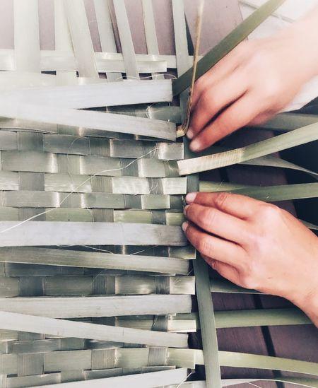Weaving Flax