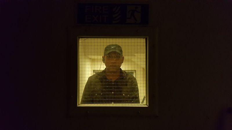 U THERE? Abstarct Jail Jailbreak Architecture Bored Door Doorway Dor Human Representation Indoors  Low Angle View Night No People Sculpture Statue Window Window View Windows
