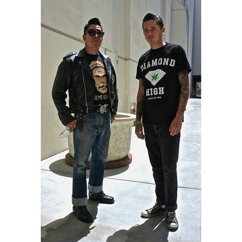Leather Chucks Diamond Americana Rockabilly Rayban Vegas  Greaser Levis VivaLasVegas Rockabillyweekend Rockabillyweekender