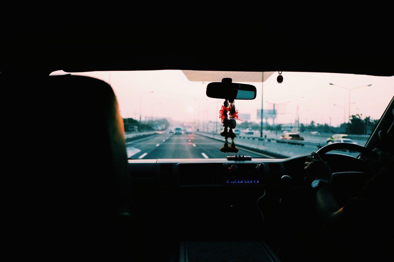 Car, Car Interior, Day, Glass - Material, Human Hand