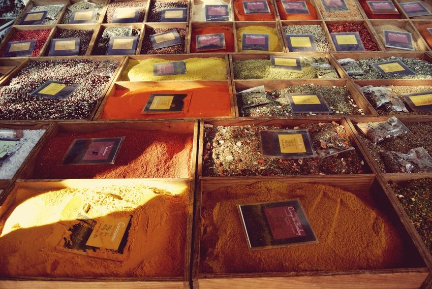 Nice, France Nizza Francia Côte D'Azur Eyeem Market Marketplace Spices Thespicesomg Smellsgood Smell Red Orange Colourful