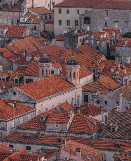 Hup Oranje I. Architecture Building Exterior Roof High Angle View House Outdoors Residential Building Built Structure Day Full Frame Tiled Roof  Cityscape City Sky Dubrovnik Dubrovnik, Croatia Dubrovnik - Croatia❤ Dubrovnik Old Town Dubrovnikoldtown Croatia Croatia ♡ Hrvatska Crop  Orange Color Orange