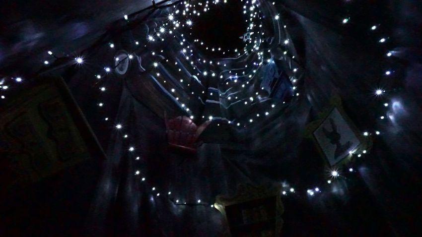France Bretagne Trévarez Alice In Wonderland Illuminated Night
