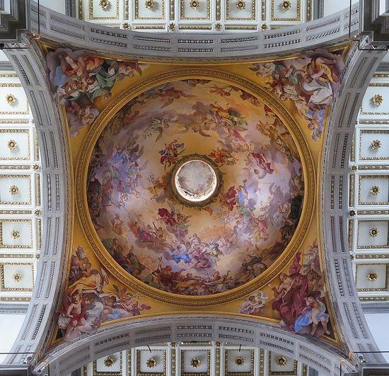 Architecture Basilica Basilica Di San Lorenzo Dome Florence Florence Churces Florence Italy Renaissance Architecture Tuscany