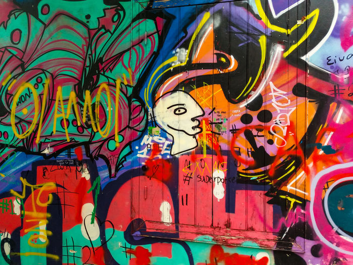Graffiti Red Red Color Drawing Outdoor Photography Yellow Green White Greece Athens, Greece Athens Closeup Photography Multi Colored Backgrounds Full Frame Art And Craft Close-up Street Art Graffiti Art Painted Spray Paint ArtWork Modern Art
