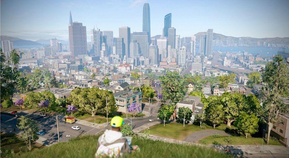 Watch Dogs 2 PS4 Screenshot Ubisoft My Character  City Nature Beautiful San Francisco 히힣