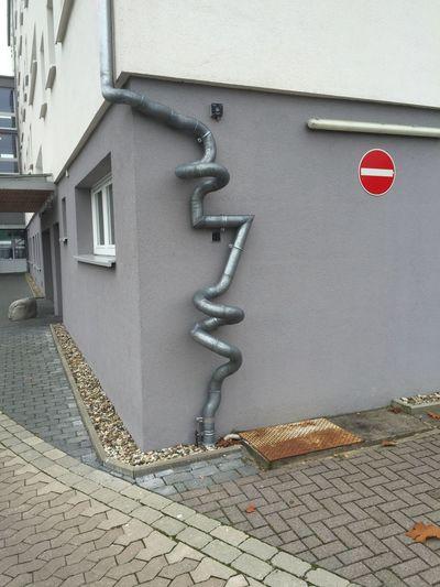 Rain drainpipe