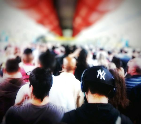 Endless ocean of People / Public Transportation Notes From The Underground Subway Station Cityscapes Urban Lifestyle