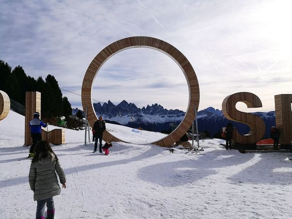 Dolomiti. Dolomites, Italy Vacations Mountain View