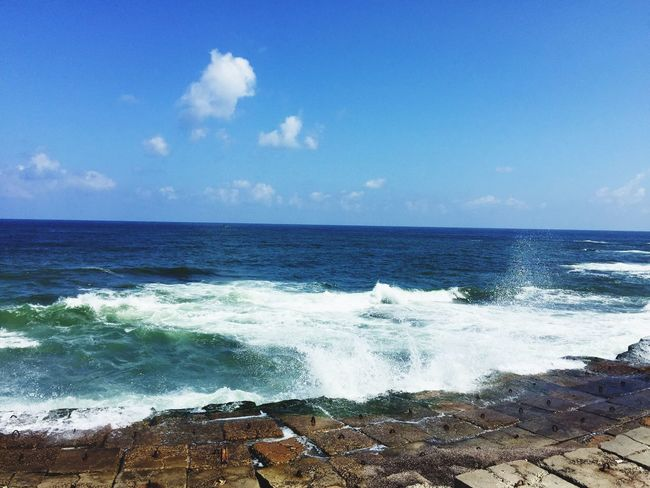 Sea Water Sky Horizon Over Water Horizon Wave Beauty In Nature Beach Motion Scenics - Nature
