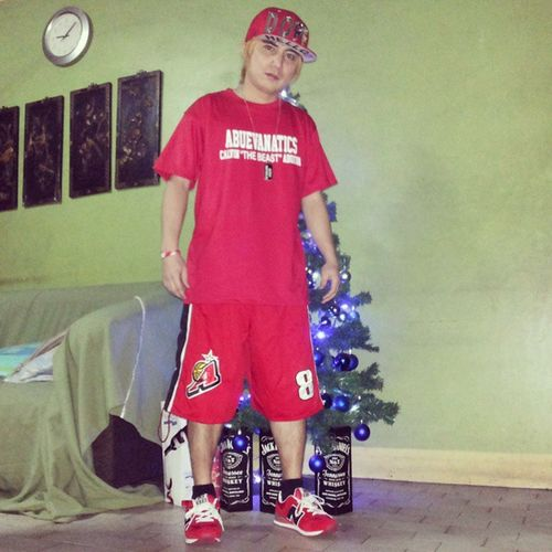 Merry Christmas Everyone! OOTN! All Red... ChristmasColor AlaskaAcesColor AlaskaAcesApparels AbuevanaticsShirt AcesFanStyle
