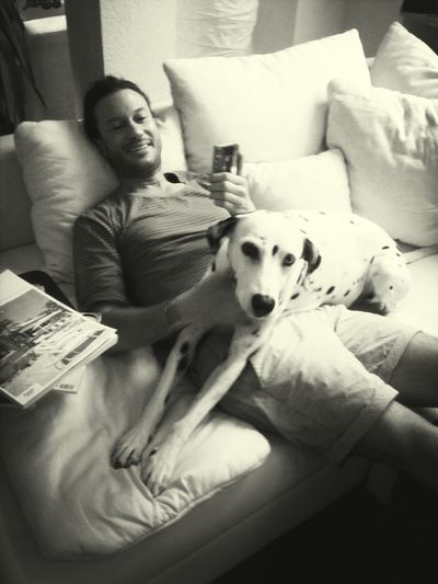 My Bf & My Dog In <3