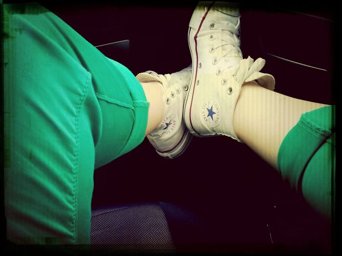 Converse Green Me Pop