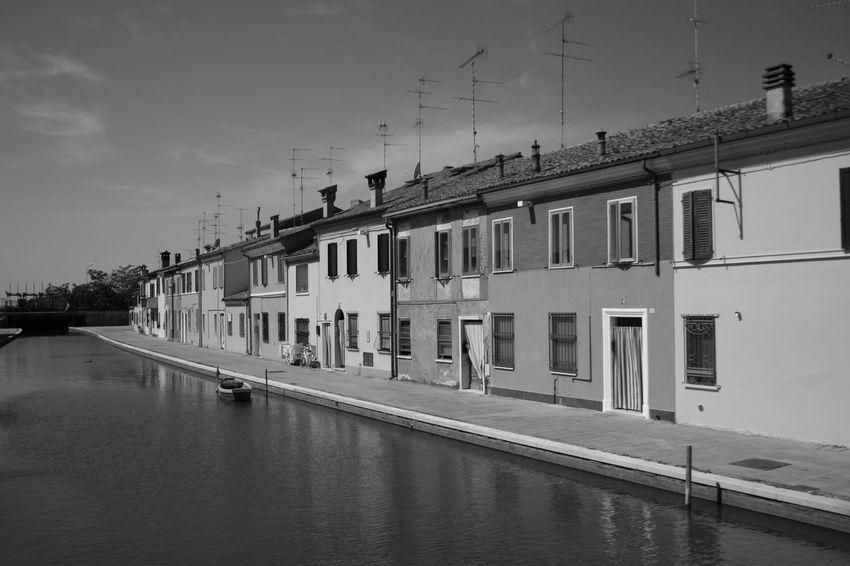 Bella Italia Comacchio Italia Old Town Blackandwhite Blackandwhite Photography Canal Canal View Canals And Waterways Comacchiocity Italy Po Delta