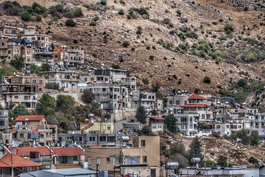 Majdal Shams Cityscape Nature Druze Village Druze Village Life Outdoors Mountain Travel Photography